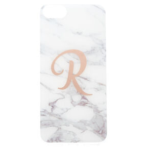 "Marbled ""R"" Initial Phone Case,"