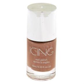 Shimmer Nail Polish - Taupe Shimmer,