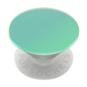 PopSockets Swappable PopGrip - Seafoam Chrome,