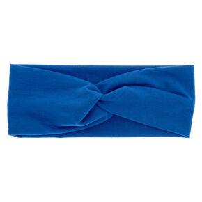 Royal Blue Headwrap,