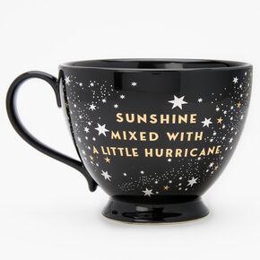 Black Ceramic Zodiac Mug - Pisces,