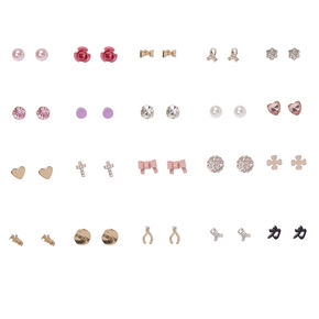 Ooh La La Sparkle Stud Earrings Set of 20,