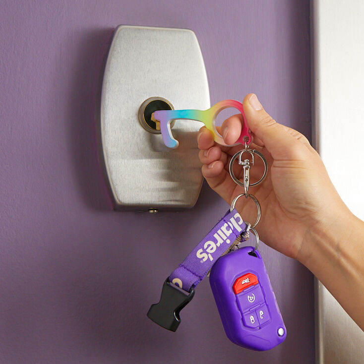 Rainbow Ombre Clean Key,