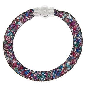 Mermaid Mesh Bangle Bracelet,