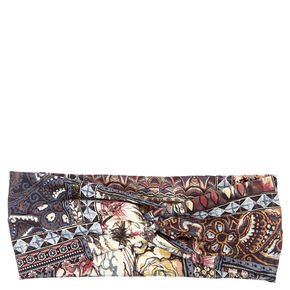 Stained Glass Wide Jersey Headwrap,