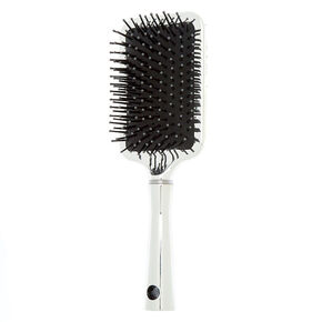Bedazzled Paddle Hair Brush - Purple,