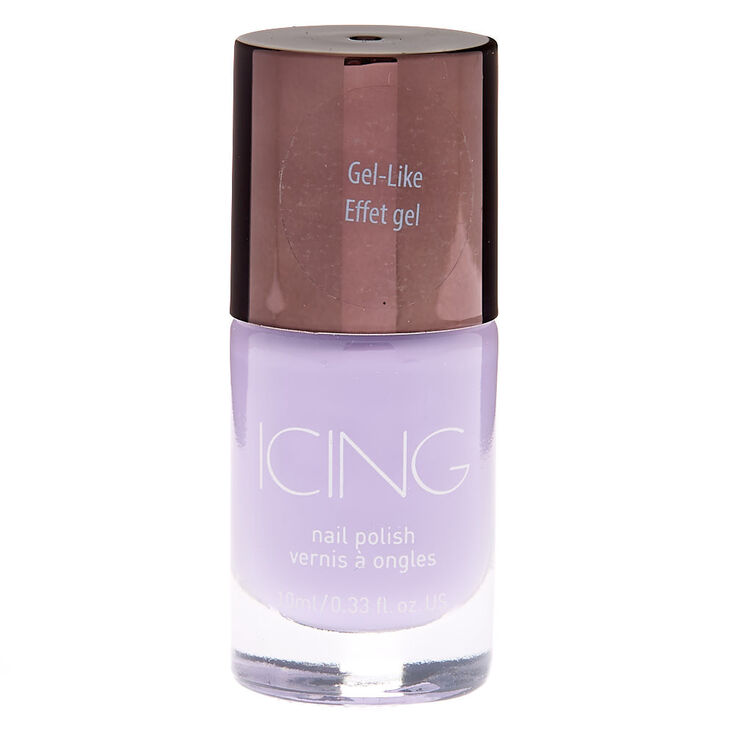 Gel-Like Nail Polish - Lilac,