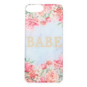 Babe Floral Phone Case - Fits iPhone 6/7/8 Plus,