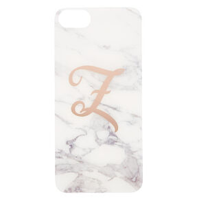 Marble Z Initial Phone Case,