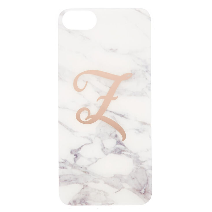 Marble Z Initial Phone Case - Fits iPhone 6/7/8,