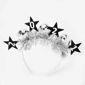 2021 New Year's Eve Disco Ball Headband,