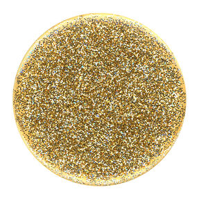 PopSockets Swappable PopGrip - Glitter Gold,