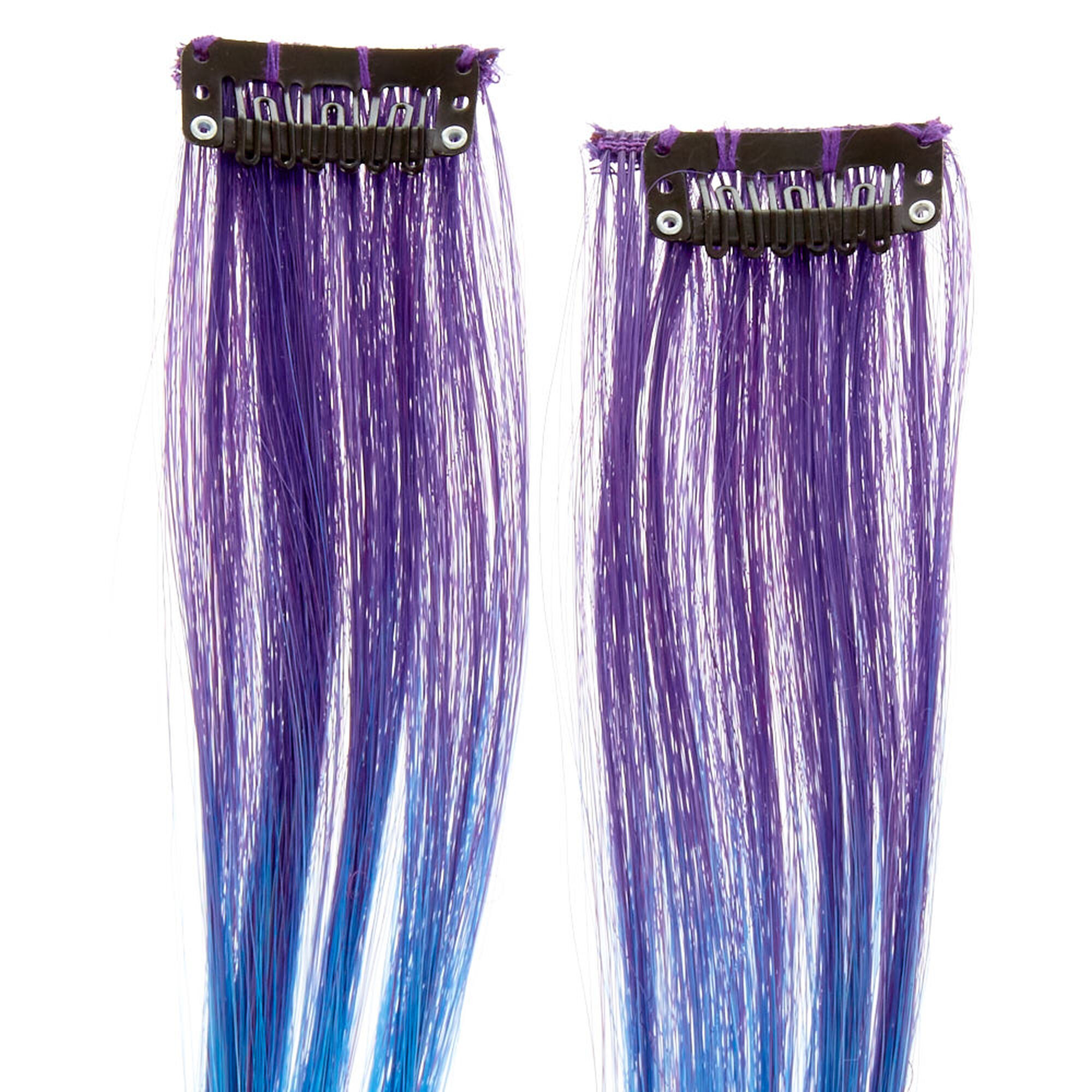 Mermaid Ombre Dash Faux Hair Extensions Icing Us