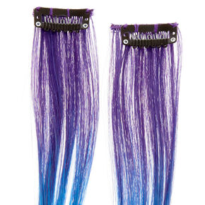 Mermaid Ombre Dash Faux Hair Extensions,