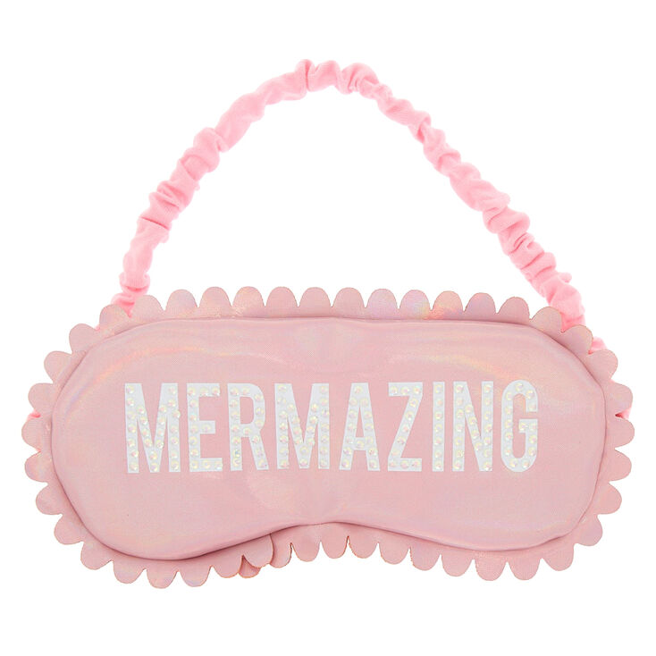 Holographic Mermazing Sleeping Mask - Pink,