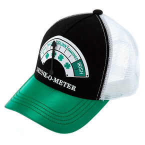 Drunk-O-Meter Trucker Hat - Green,