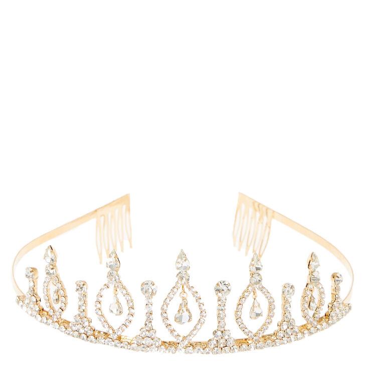 Royal Gold Chandelier Tiara,