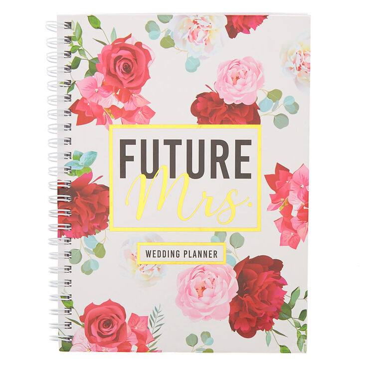 Floral Future Mrs. Wedding Planner Notebook,