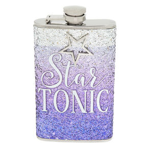 Star Tonic Glitter Flask - Purple,