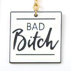 Best Friends Basic & Bad Bitch Keychain Set - 2 Pack,