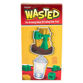 Wasted - The Drinking Game of Falling Over Fun,
