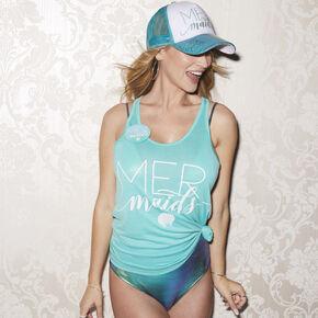Turquoise Mermaids Tank Top,