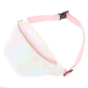 Reversible Sequin Fanny Pack - Iridescent,