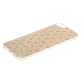 Gold Glitter Polka Dot Phone Case,