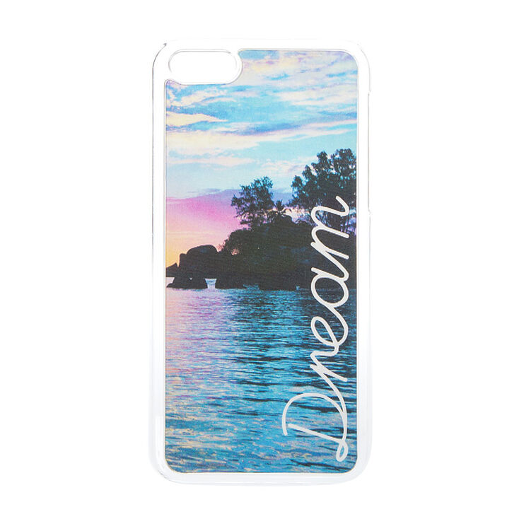 Holographic Dream Paradise Phone Case,