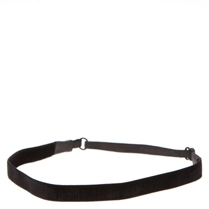Black Velvet Headwrap,