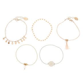 Assorted Pastel Bracelet Set,