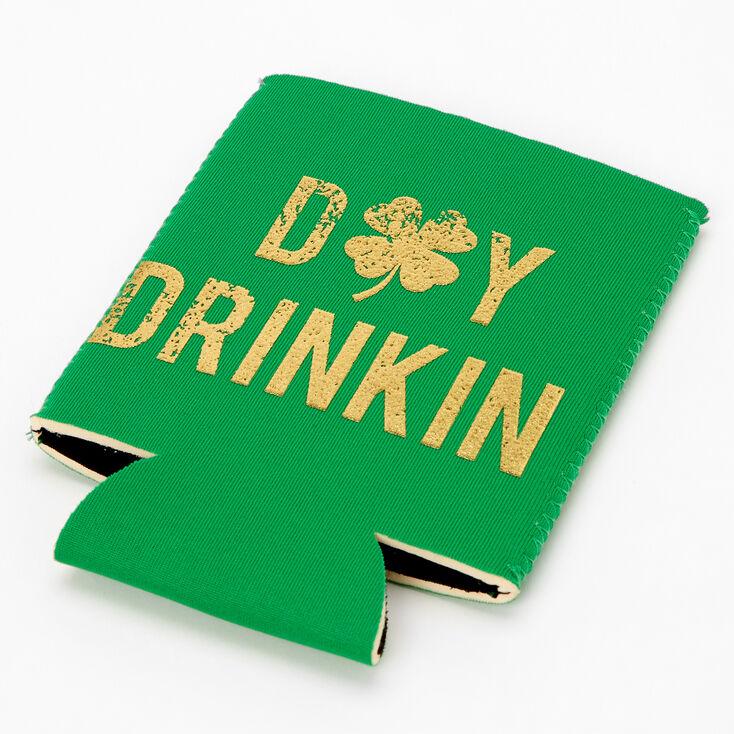 Day Drinkin' Koozie - Green,