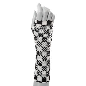 Checkered Arm Warmers,