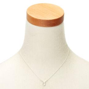 Silver Zodiac Pendant Necklace - Taurus,