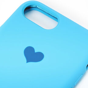 Cobalt Heart Phone Case - Fits iPhone 6/7/8,