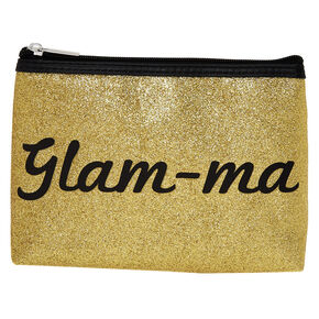Glam-ma Glitter Cosmetic Bag,