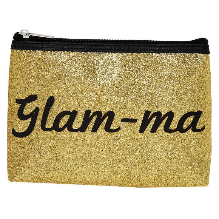 Glam-ma Glitter Cosmetic Bag,