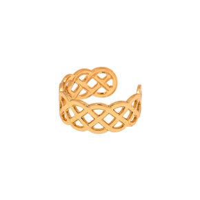 Gold Celtic Knot Toe Ring,