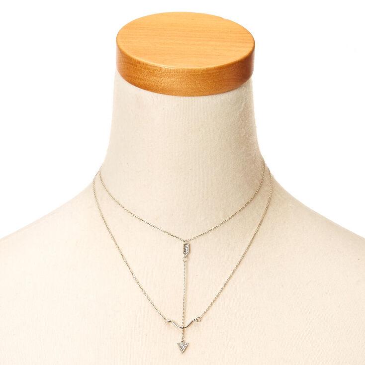 Silver Bow & Arrow Necklace,