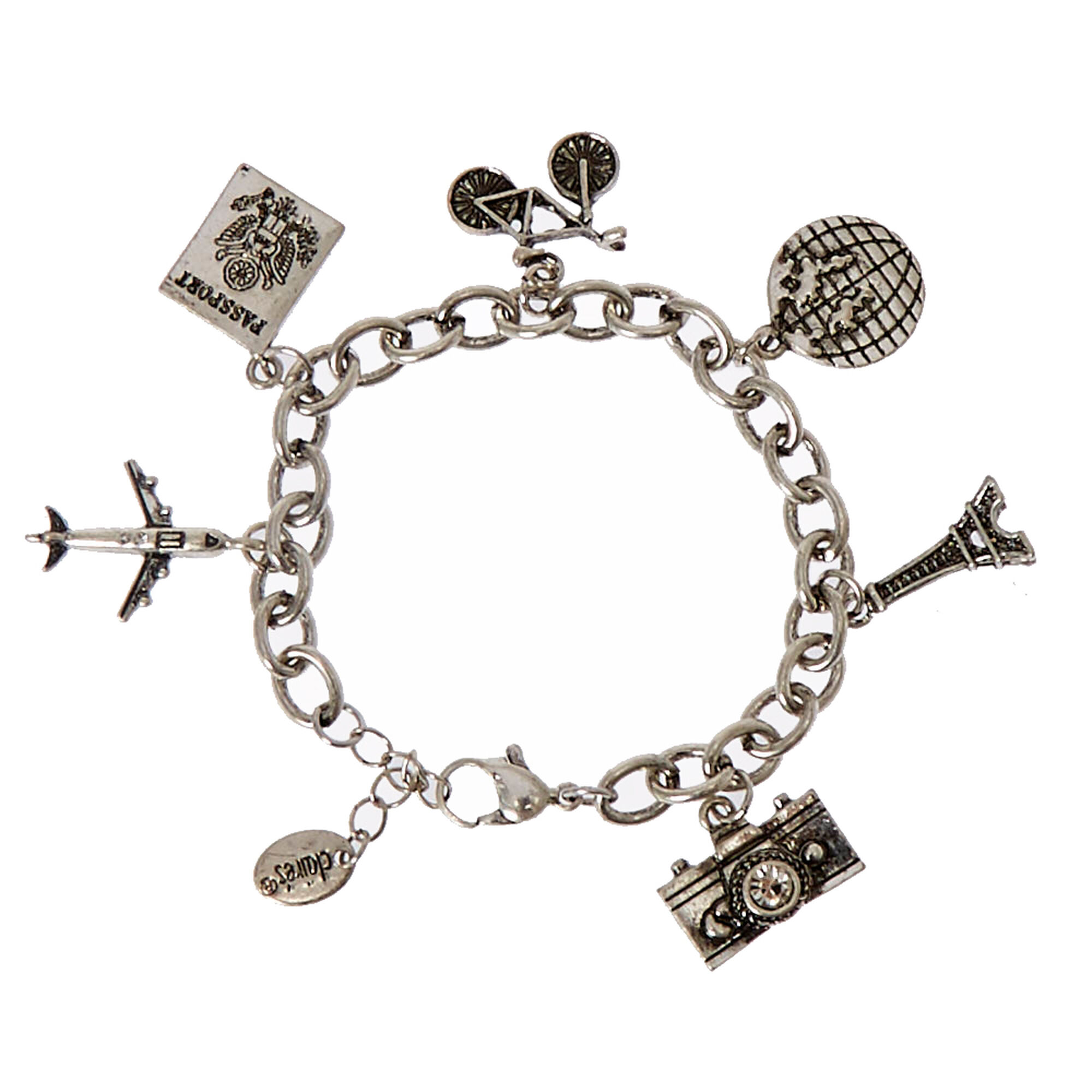 morgan heart bangles bracelets by browse range fingerprint charm french bead sweetie bracelet