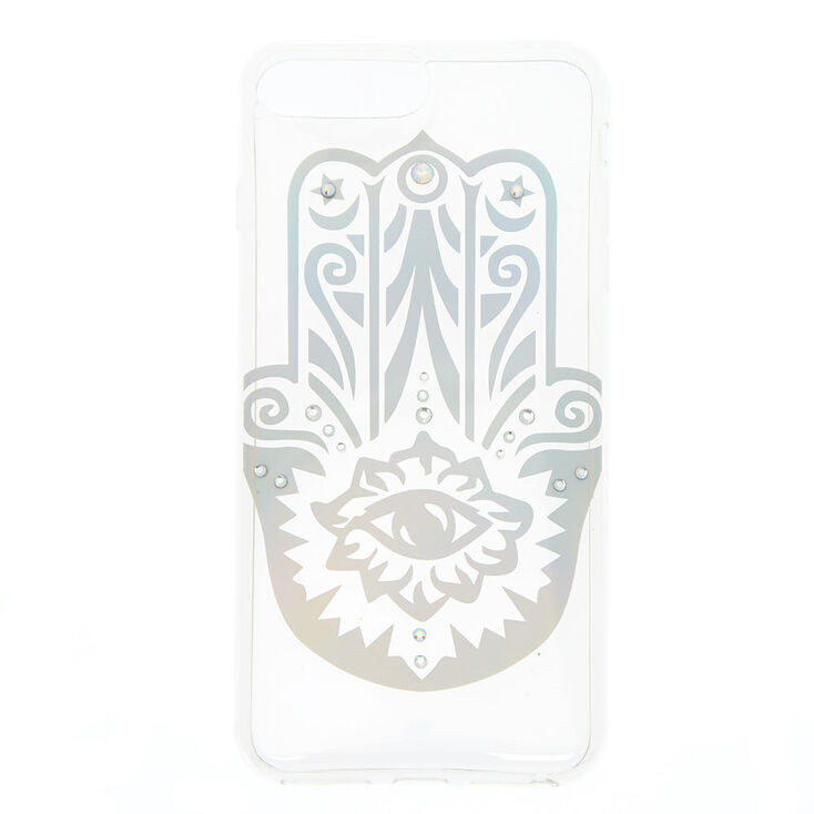 Holographic Hamsa Hand Phone Case - Fits iPhone 6/7/8 Plus,