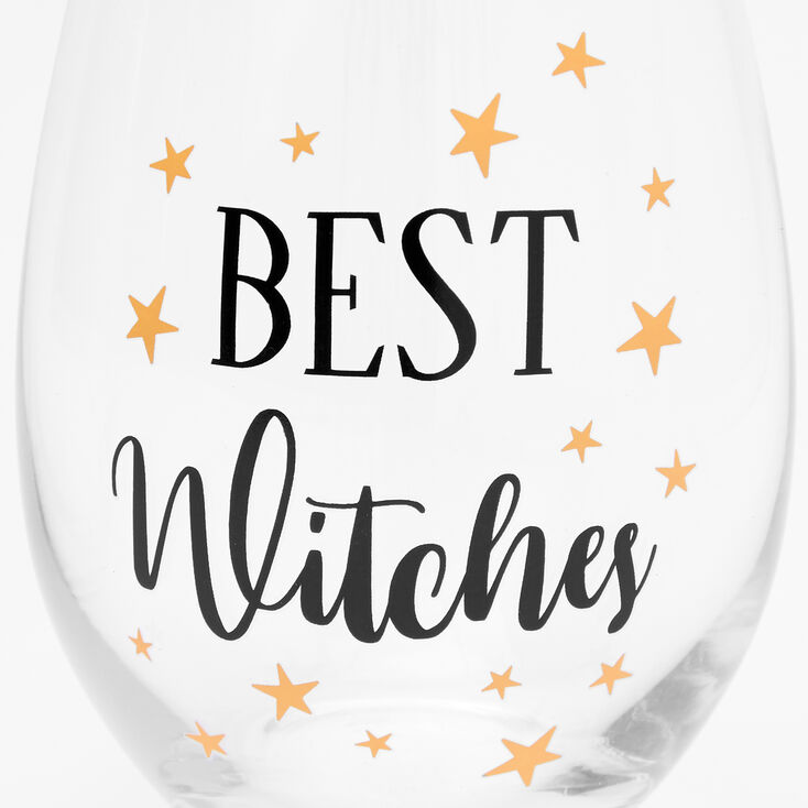 Best Witches Wine Glass Set - 2 Pack,