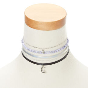 Holographic Celestial Choker 5 Pack,