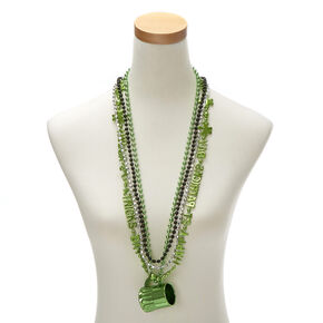4 Piece Happy St. Patrick's Day Necklace Set,