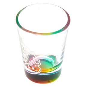 F*ckin Magical Unicorn Shot Glass - Rainbow,