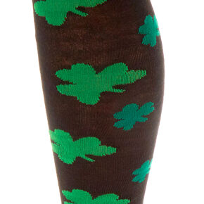 St. Patrick's Day Over the Knee Shamrock Socks,
