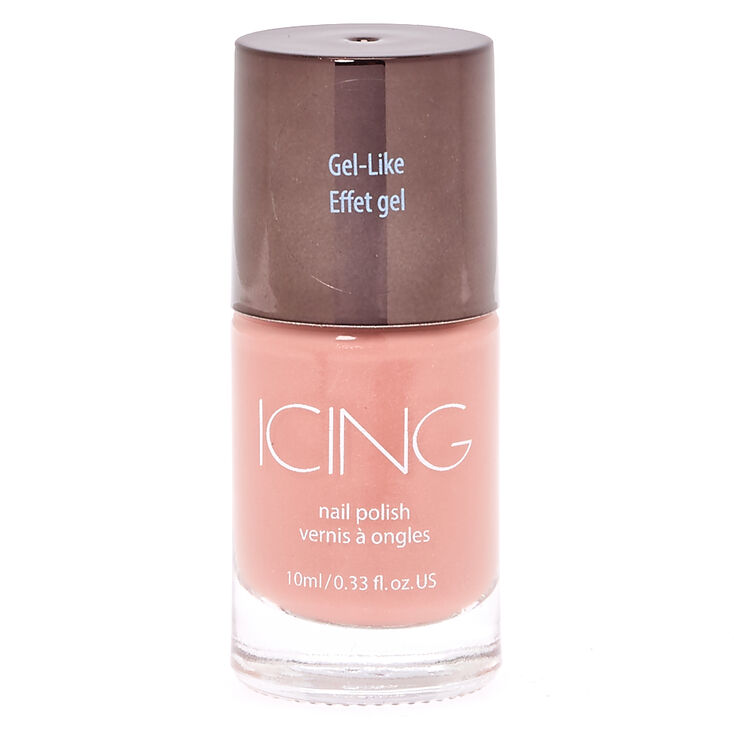 Gel-Like Nude Nail Polish,