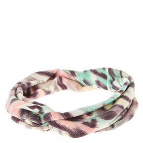 Pastel Twist-Front Headwrap,