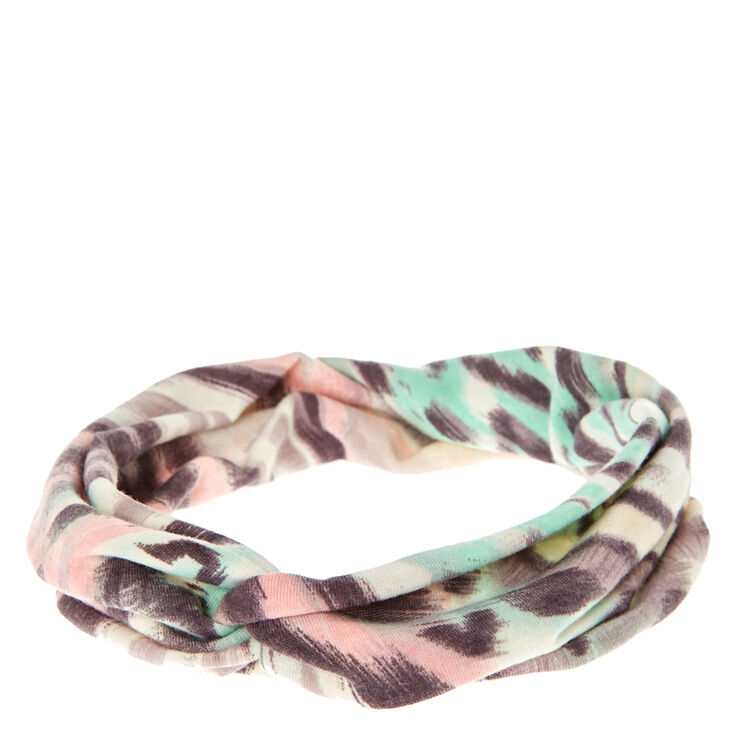 Pastel Twist-Front Headwrap,