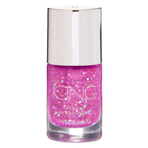 Glitter Nail Polish - Neon Purple,